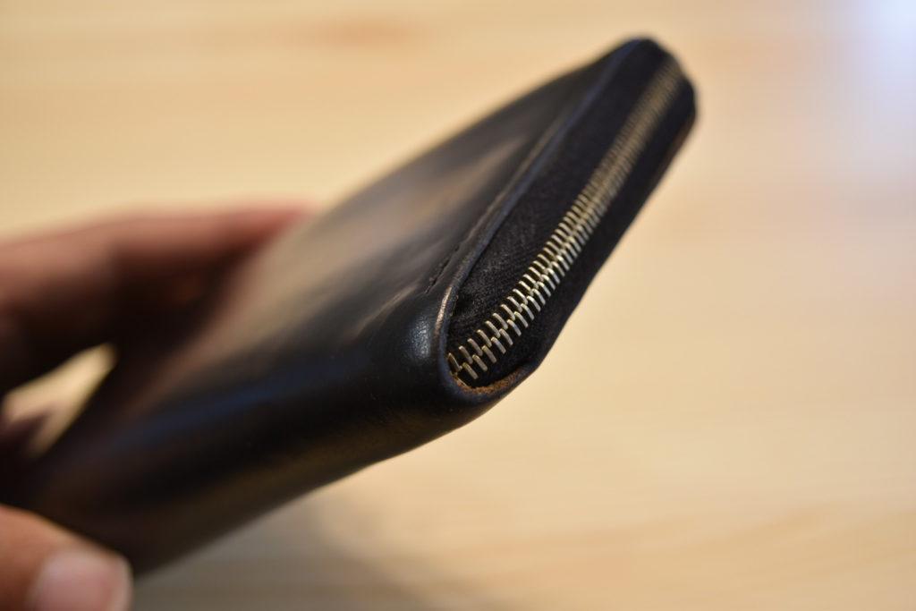 グレンロイヤル ラウンドジップ長財布 角の写真