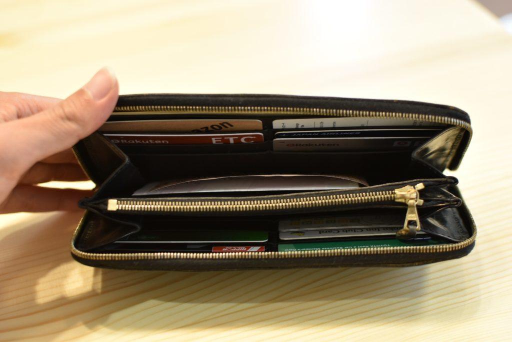 グレンロイヤルラウンドジップ長財布 内側