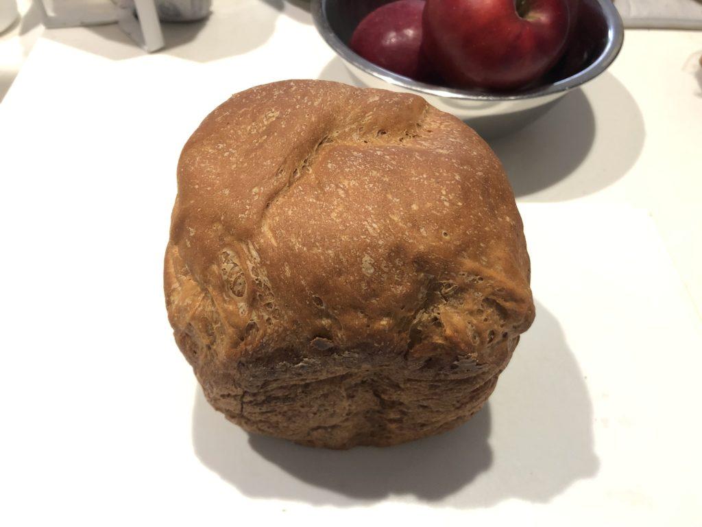 ホームベーカリーで全粒粉100%パン 手順⑧