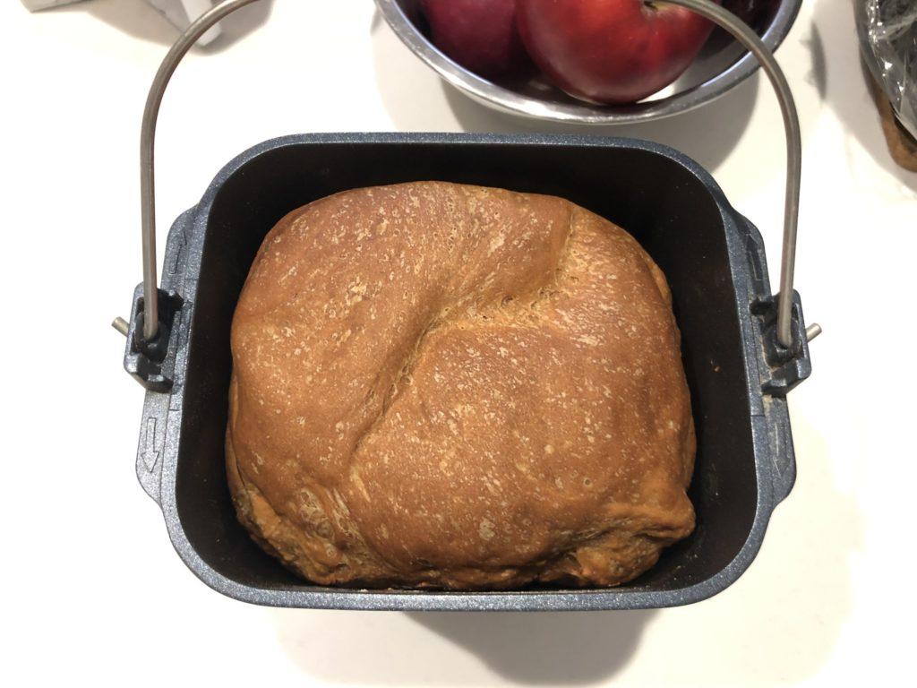 ホームベーカリーで全粒粉100%パン 手順⑦
